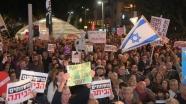 Netanyahu'ya yolsuzluk protestosu