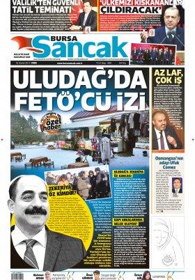 SANCAK GAZETESİ - 15.12.2017 Manşeti