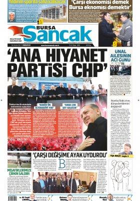SANCAK GAZETESİ - 16.12.2017 Manşeti
