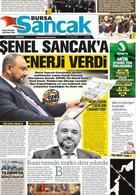 SANCAK GAZETESİ - 16.01.2017 Manşeti