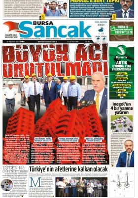 Bursa TV - 18.08.2017 Manşeti