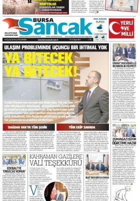 SANCAK GAZETESİ - 19.09.2018 Manşeti