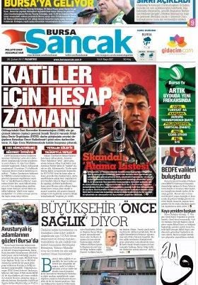 SANCAK GAZETESİ - 20.02.2017 Manşeti
