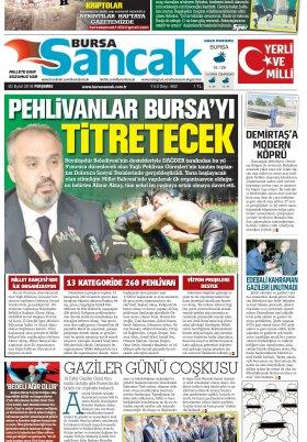 SANCAK GAZETESİ - 20.09.2018 Manşeti