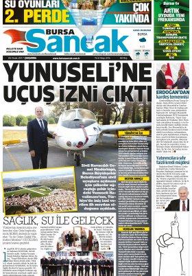 BURSA SANCAK - 24.01.2017 Manşeti