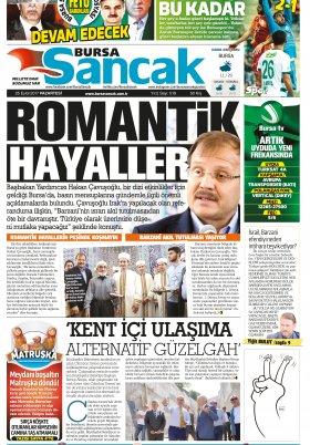 SANCAK GAZETESİ- 25.09.2017 Manşeti
