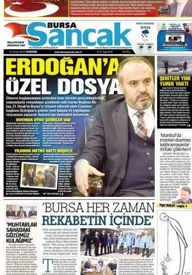 SANCAK GAZETESİ - 18.01.2018 Manşeti