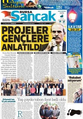 SANCAK GAZETESİ - 27.05.2017 Manşeti