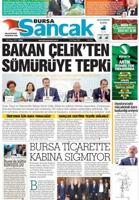SANCAK GAZETESİ - 28.04.2017 Manşeti