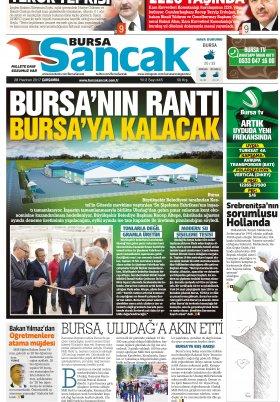 SANCAK GAZETESİ - 28.06.2017 Manşeti