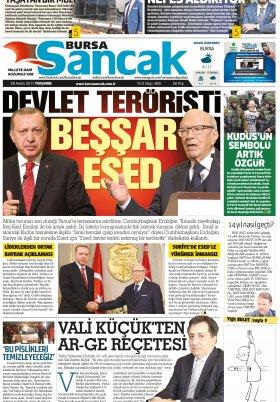 SANCAK GAZETESİ - 28.12.2017 Manşeti