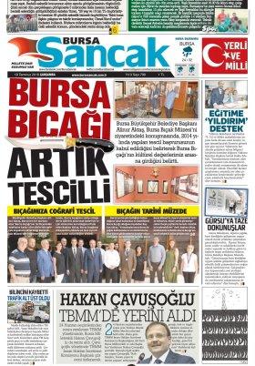 SANCAK GAZETESİ - 18.07.2018 Manşeti