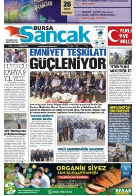 SANCAK GAZETESİ - 26.05.2018 Manşeti