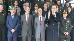 145 JÖH Bursa'dan Afrin'e uğurlandı