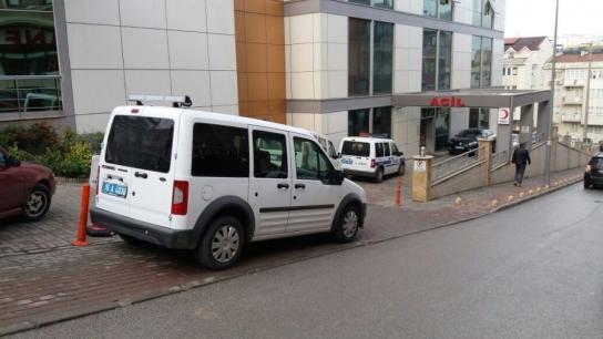 Bursa'da hastane personeline silahlı saldırı