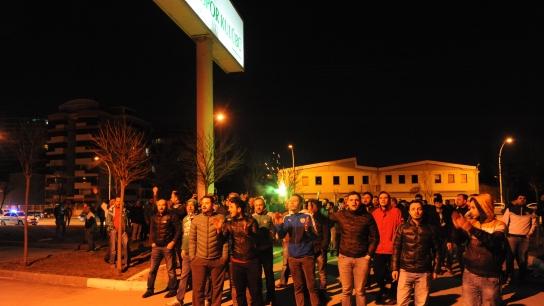 """Bursasporlu taraftarlardan yönetime """"istifa çağrısı"""""""