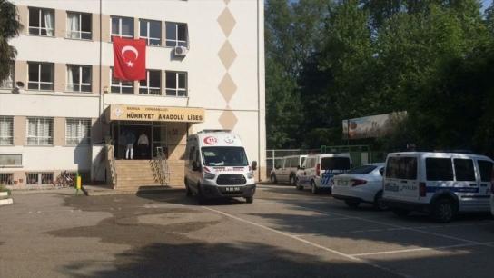 Bursa'da lisede cinayet