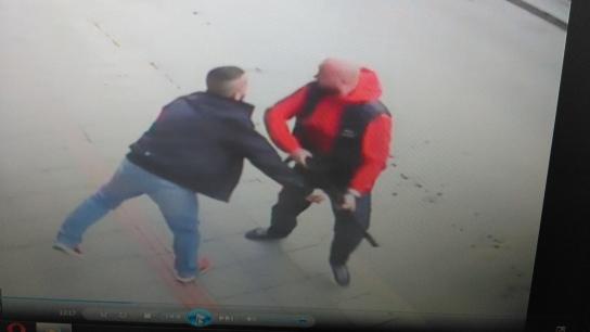 Bursa Gemlik'teki cinayet anı güvenlik kamerasında