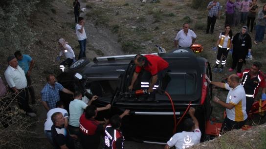 Çorum'daki kazada can pazarı: 3 ölü 4 yaralı