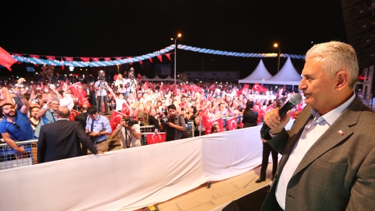 Başbakan Yıldırım Torbalı Devlet Hastanesi'nin açılışını yaptı
