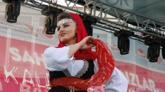 Kahramanmaraş'ta Dondurma Festivali renkli anlara sahne oldu