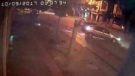 Bursa'daki ölümlü kaza güvenlik kamerasında