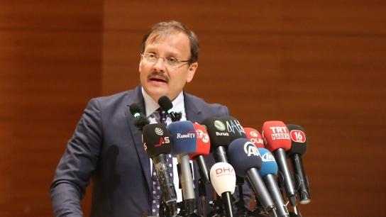 """Başbakan Yardımcısı Çavuşoğlu, """"Selçuklu da Osmanlı da Cumhuriyet de bizimdir"""""""