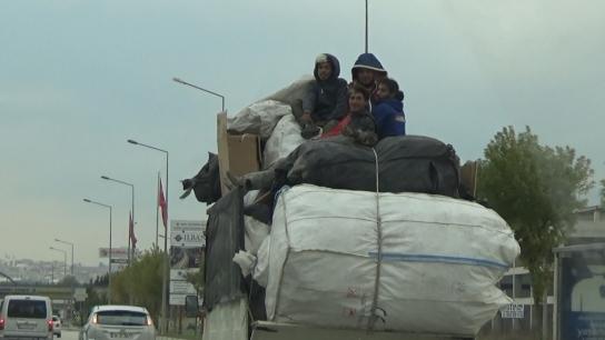 Bursa'da trafikte tehlikeli yolculuk kameralarda