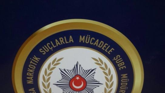 Bursa'da 1 kilo metamfetamin ele geçirildi
