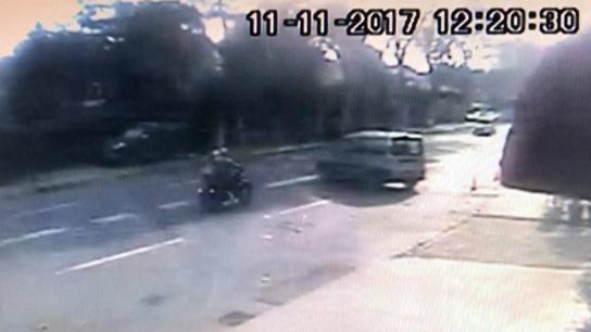 Yeni evli çift motosikletle yaptıkları kazada ağır yaralandı