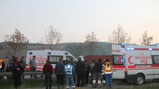 Bursa'da feci kaza! Çok sayıda yaralı var