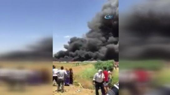 Lübnan'da Suriyelilerin kaldığı kampta yangın: 3 ölü