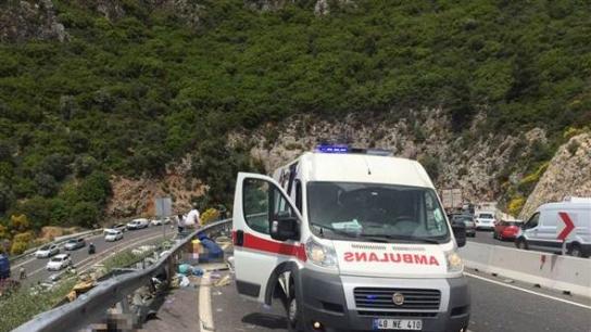 Marmaris'te feci kaza: 23 kişi hayatını kaybetti