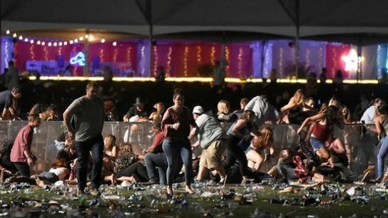 Las Vegas'taki konsere silahlı saldırıdan ilk görüntüler