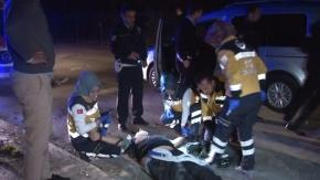 Başkent'te aynı noktada çifte trafik kazası!
