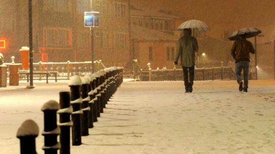 Bursa'da yoğun kar yağışı