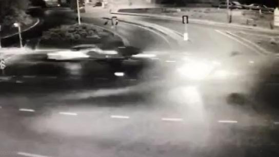 Beykoz'daki feci kaza kamerada