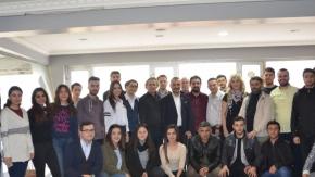 Gazeteciler Günü'nde Bursa TV'de renkli kutlama