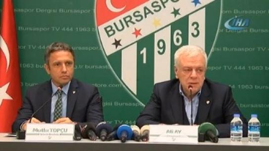 Bursaspor Mutlu Topçu ile sözleşme imzaladı