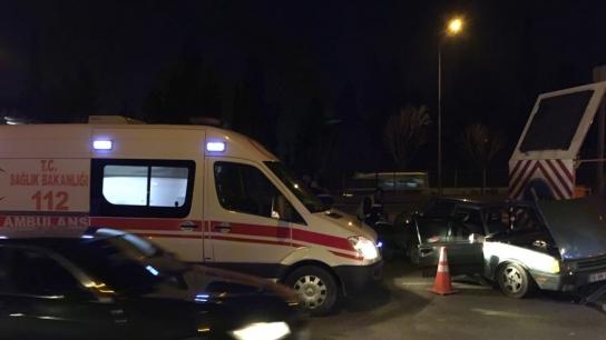 Bursa'da metro istasyonunda feci kaza!