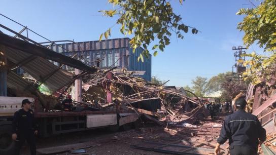 Gürsu'daki patlamada fabrika sahibinin oğlu da hayatını kaybetti