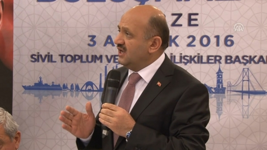 Milli Savunma Bakanı Fikri Işık'ın konuşması