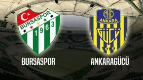 Hazırlık maçı: Bursaspor: 0 - Ankaragücü: 2