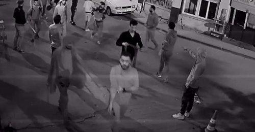 Suriyeli mülteci grup, pala ve sopalarla dehşet saçtı