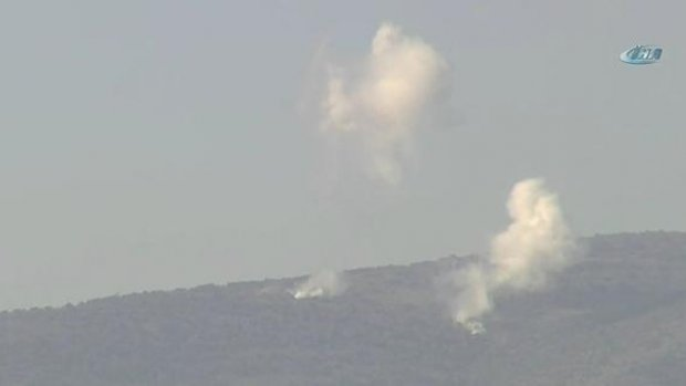 Darmık Dağı bombalanıyor