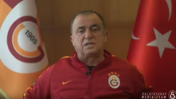 Galatasaray'dan Mehmetçiğe mesaj: Hepinize minnettarız kalbimiz duamız sizinle