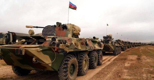 Azerbaycan ordusundan dev tatbikat