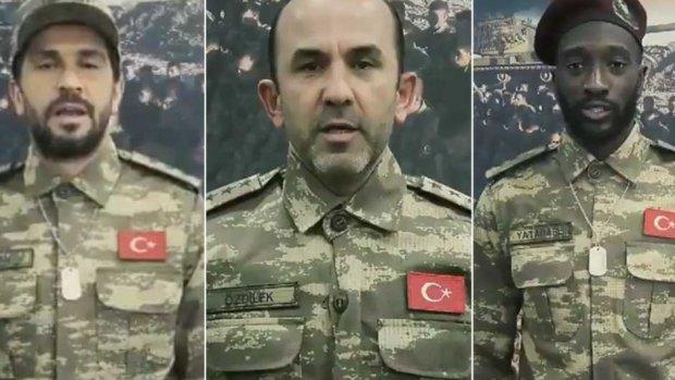 Konyasporlu futbolculardan Mehmetçik'e dua