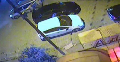 Esenyurt'ta işlenen cinayetin kan donduran görüntüleri