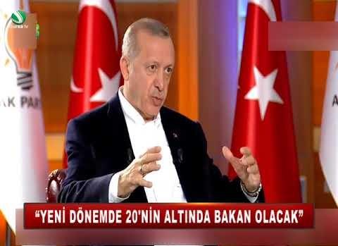 """""""YENİ DÖNEMDE 20'NİN ALTINDA BAKAN OLACAK"""""""